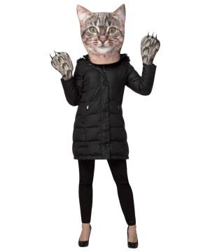 Kitty Photo Print Mask Costume