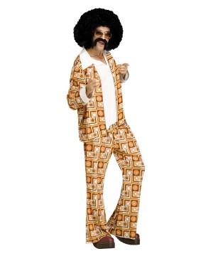 Mens 70s Disco Dude Costume