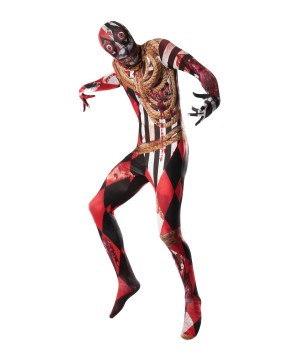 Mens Acrosplat Skin Suit Costume