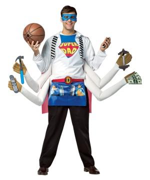 Mens Amazing Super Dad Costume