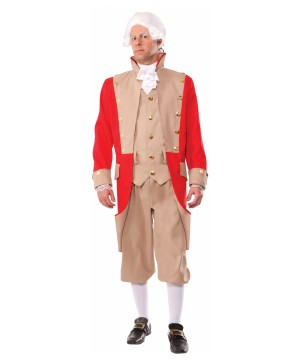 Mens Colonial British Costume