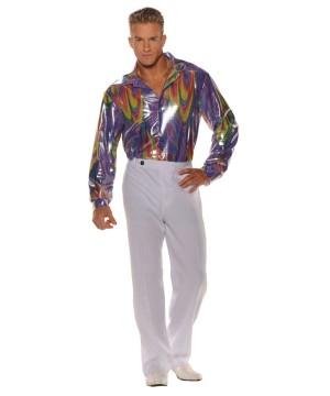 Mens Disco King Shirt Costume