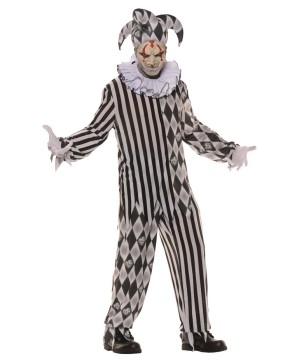 Mens Evil Harlequin Costume