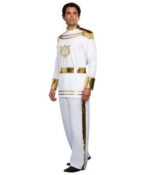 Mens Fairytale Prince Costume
