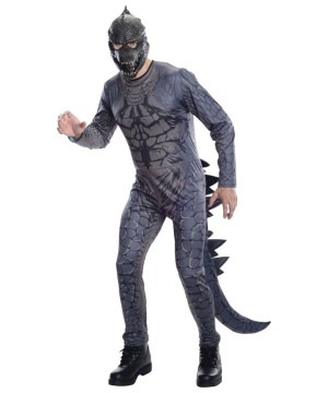 Godzilla 3d Effect Mens Costume