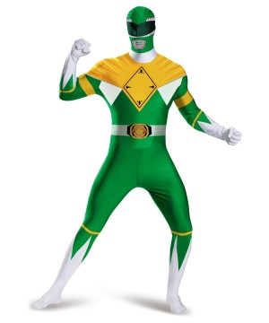 Mens Green Ranger Bodysuit Costume