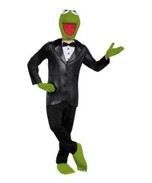 Mens Kermit Frog Costume
