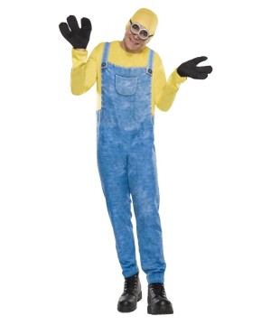 Mens Minion Bob Costume