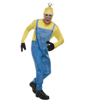 Mens Minion Kevin Costume