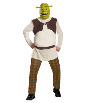 Mens Shrek Costume