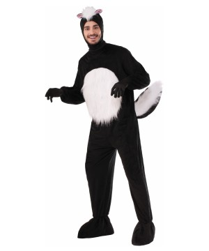 Mens Skunk Mascot Costume