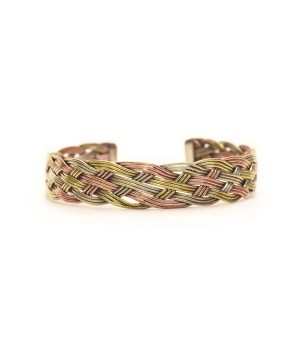 Nepali Open Cuff Copper Bracelet