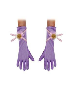 Princess Rapunzel Baby Gloves