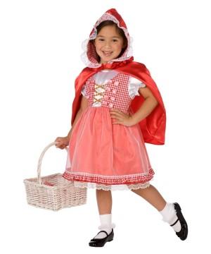Red Hood Baby Costume