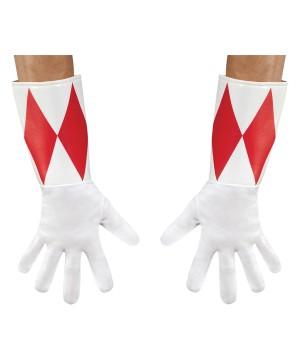 Red Power Ranger Grownup Gloves