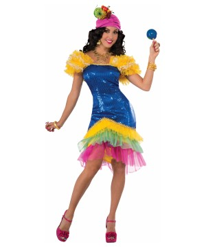 Rumbera Cha Cha Womens Costume