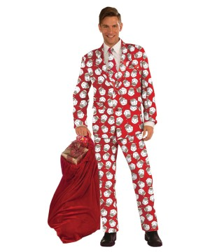 Santa Claus Business Suit Costume