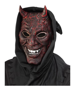 Smoldering Devil Light Effect Mask