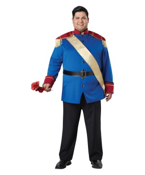 Torybook Prince plus size Costume