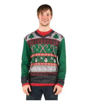 Ugly Christmas Candy Canes Shirt