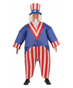 Uncle Sam Inflatable Costume