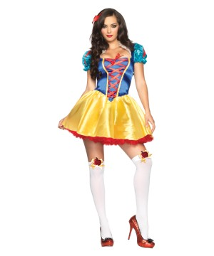 White Fairytale Princess Costume