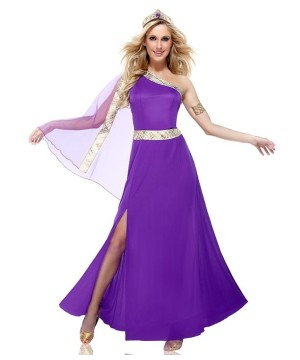 Womens Amethyst Empress Costume
