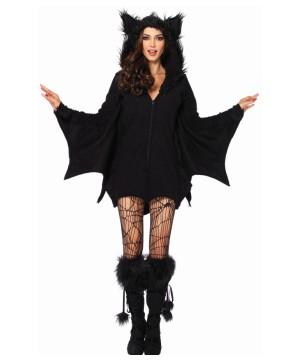 Womens Bat Cozy Costume
