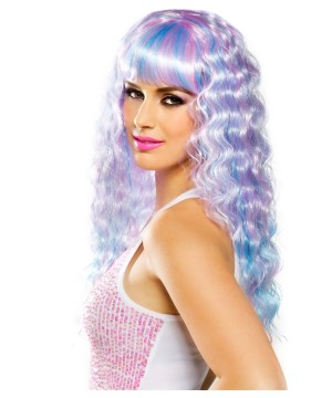 Womens Candy Pop Pastel Wig
