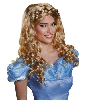 Womens Disney Cinderella Movie Wig