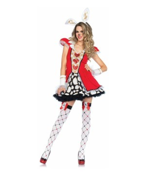 Womens Follow White Rabbit Costume