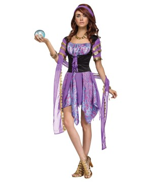 Womens Gypsy Fortune Teller Costume