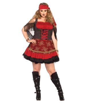 Womens Gypsy plus size Costume