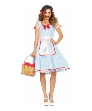 Womens Kansas To Oz Costume