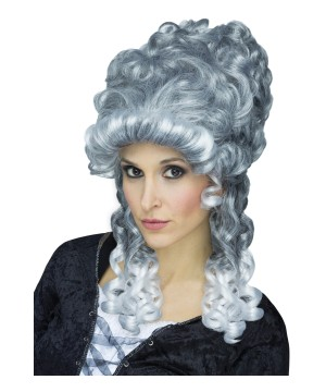 Womens Lady Gray Wig