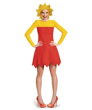 Womens Lisa Simpson Costume
