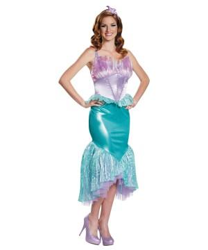 Womens Mermaid Ariel Costume