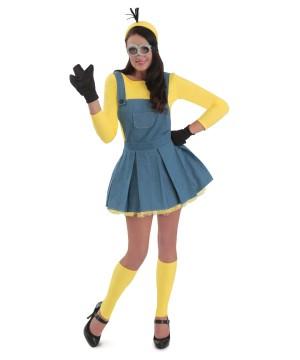 Womens Minions Jumper Costume