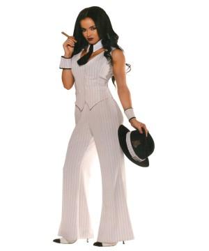 Womens Miss Mob Boss Costume