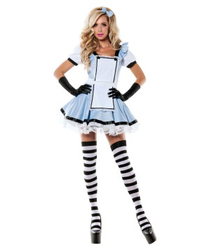 Womens Miss Wonderland Costume