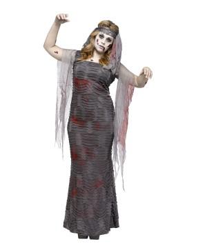 Womens Mummy plus size Costume