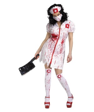 Womens Nurse Fatale Costume