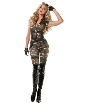 Womens Paratrooper Honey Costume