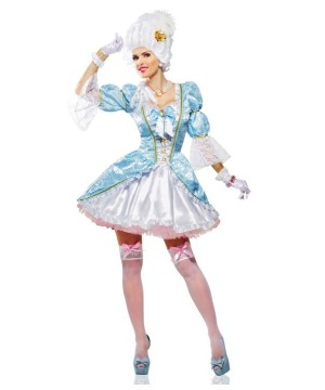 Womens Sexy Marie Antoinette Costume