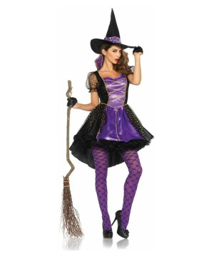 Womens Witch Crafty Vixen Costume