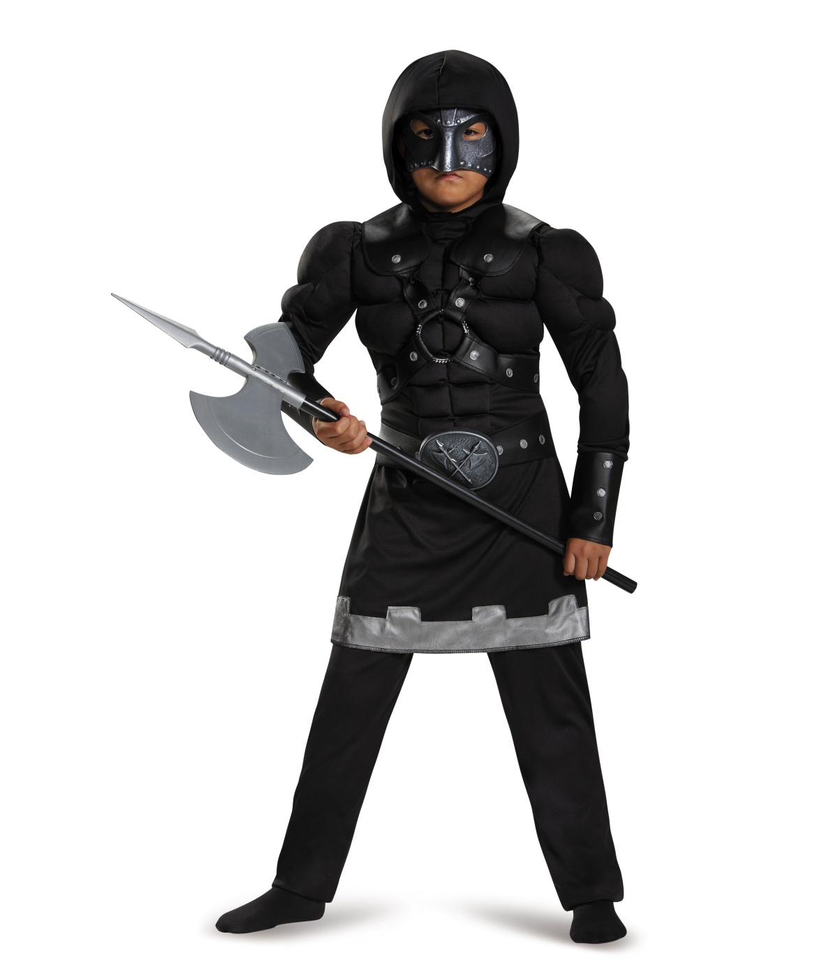 Merciless Executioner Muscle Boys Costume - Medieval Costumes