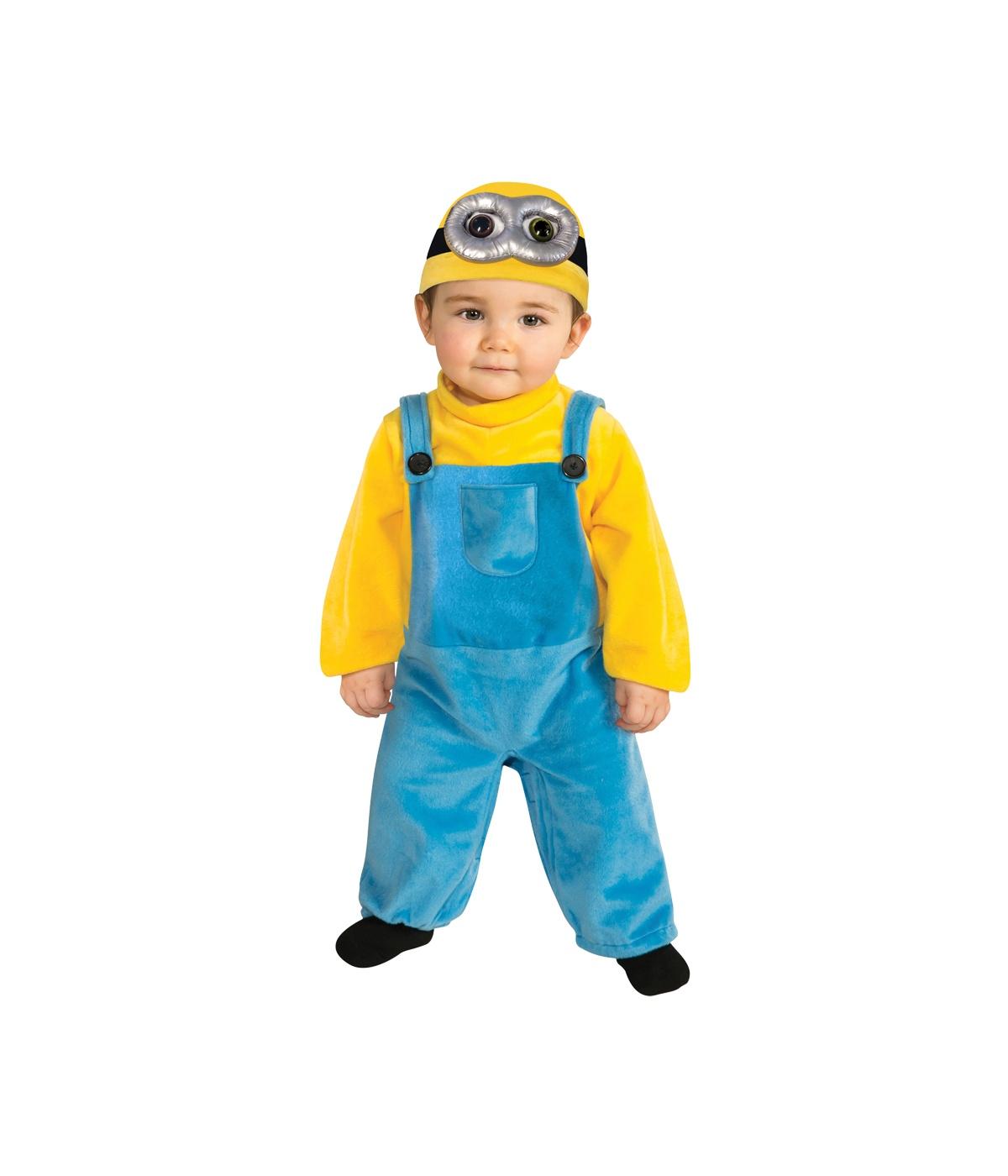 Despicably Cute Minion Bob Toddler Boys Costume - Movie Costumes