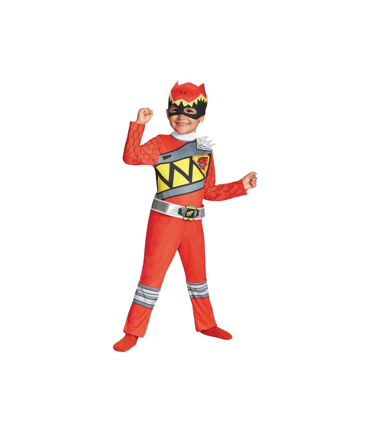 power rangers dino thunder red boys costume superhero. Black Bedroom Furniture Sets. Home Design Ideas