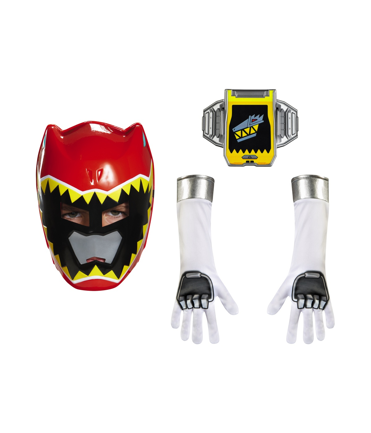 Power Rangers Dino Charge Boys Red Ranger Kit Show