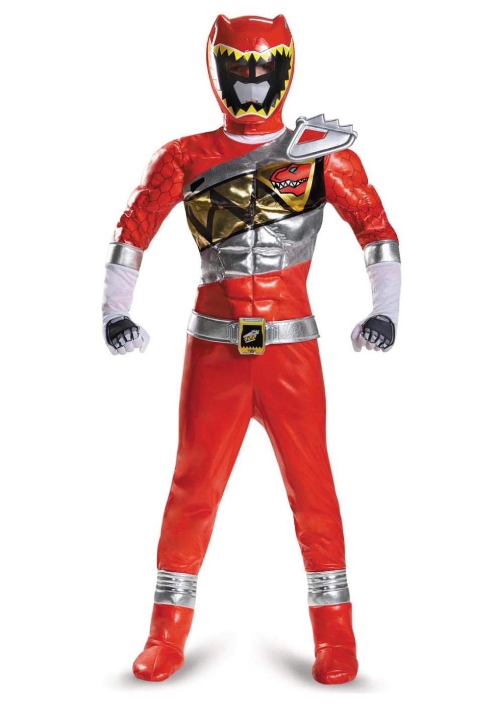 dino charge red power ranger boys costume   superhero costumes